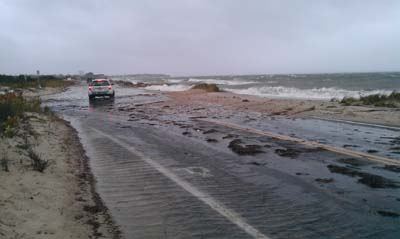 Surf Drive in Falmouth Over washed #2.