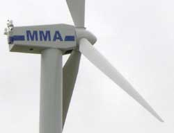 Massachusetts Maritime Academy Wind Turbine.
