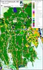1999 MassGIS land use data for the town of Dartmouth, MA