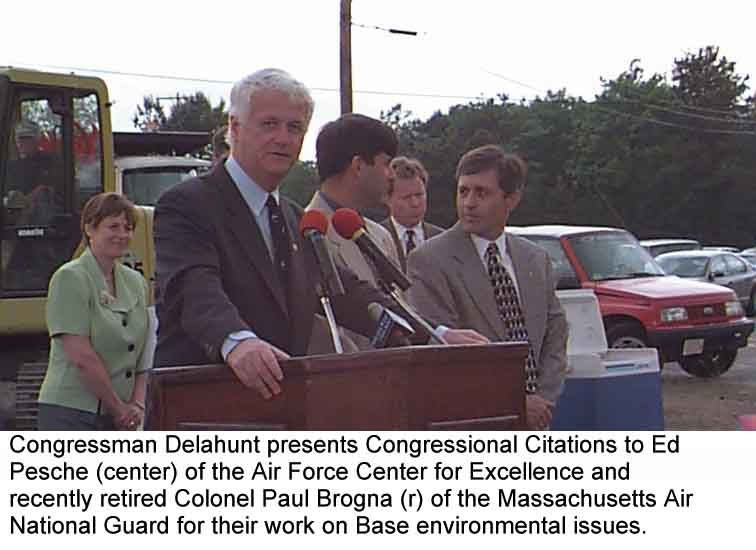 Congressman Bill Delahunt