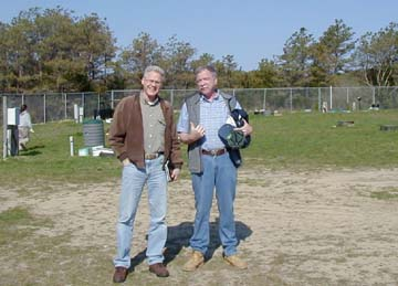 Dave Janik and George Heufelder at the Test Center.