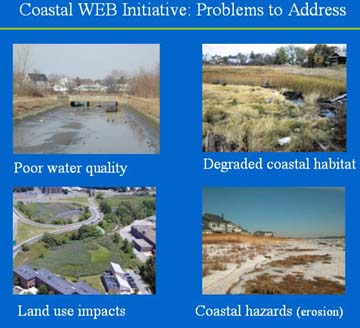 EEA's Coastal WEB Initiative
