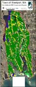 1999 MassGIS land use data for the town of Westport, MA